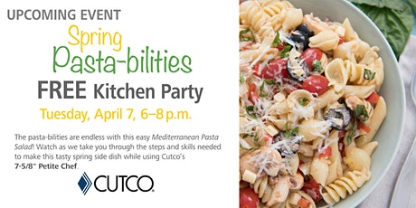 FREE Cooking Class: Spring Pasta-bilities tickets