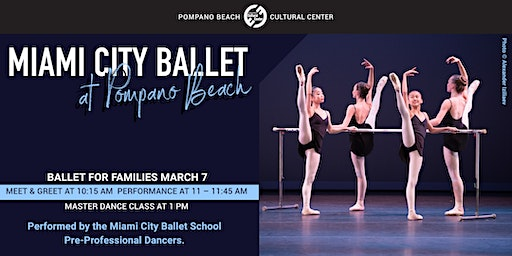 Miami City Ballet's BALLET FOR FAMILIES