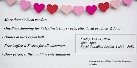Valentines Day at Miller Crossing Farmers Market tickets