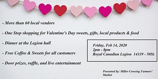 Valentines Day at Miller Crossing Farmers Market