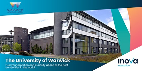 Estudia en la Universidad de Warwick - sesión informativa, también en línea entradas