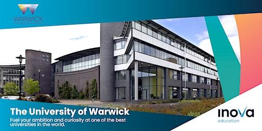 Estudia en la Universidad de Warwick - sesión informativa, también en línea