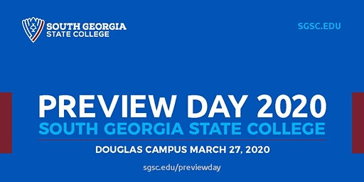 South Georgia State College Douglas Campus Preview Day, March 27, 2020