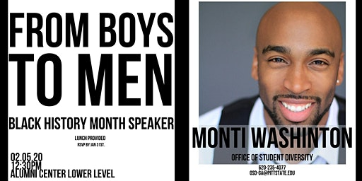 Monti Washington - From Boys to Men