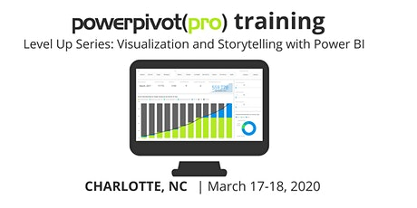 Level Up Series: Visualization and Storytelling with Power BI – Charlotte 2020 tickets
