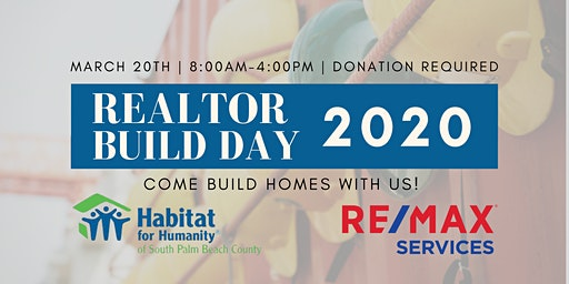 Realtor Build Day with Habitat for Humanity 2020