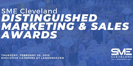 2020 Distinguished Marketing & Sales Awards Presented by SME Cleveland tickets