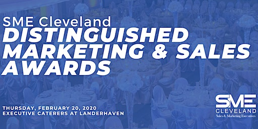 2020 Distinguished Marketing & Sales Awards Presented by SME Cleveland