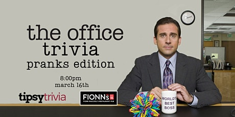 The Office Trivia - March 16, 8:00pm - Fionn MacCool's Hamilton tickets