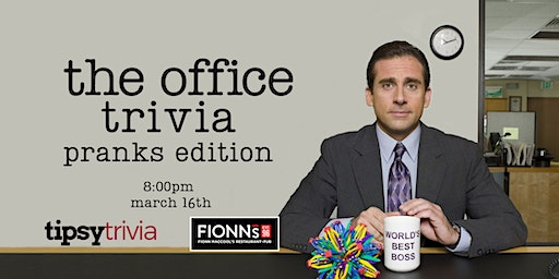 The Office Trivia - March 16, 8:00pm - Fionn MacCool's Hamilton