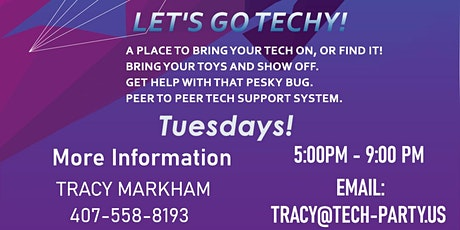 Tech Party at Lilly's on the Lake tickets