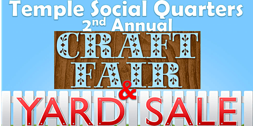Craft Fair and Indoor Yard Sale