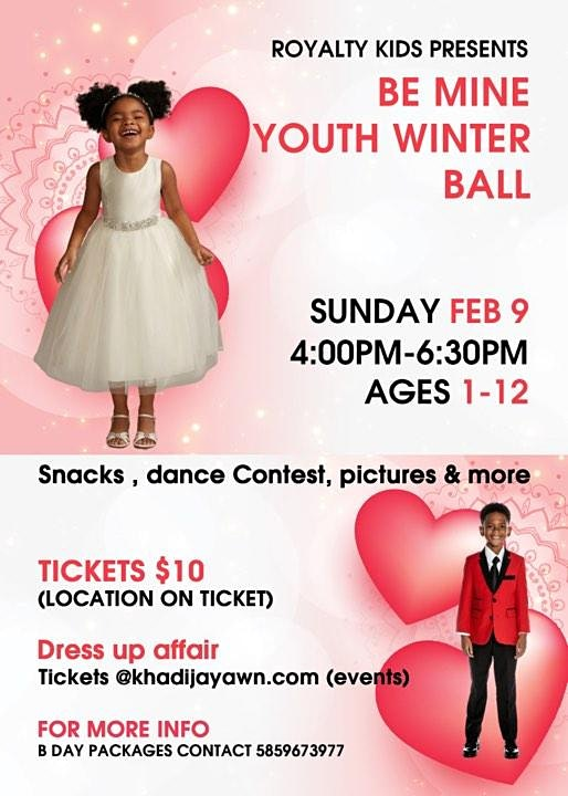 BE MINE YOUTH VALENTINES DAY BALL  Image