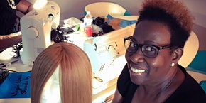 Greenville, SC- 27 Piece or Enclosed Wig Making Class with Sewing Machine