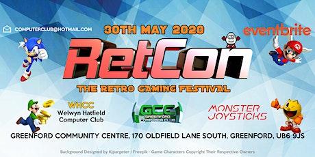 RetCon - The Retro Gaming Festival 2020 tickets
