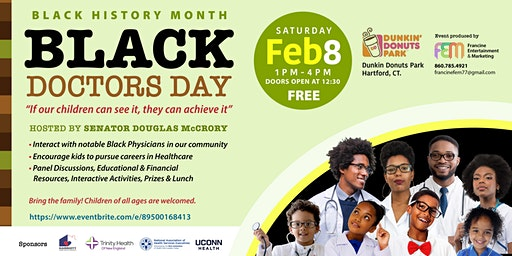""""""" Black Doctors Day"""" If our children can see it they can achieve it!"""