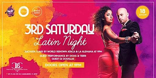3rd Saturday Latin Night
