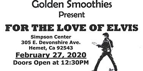 For The Love of Elvis tickets