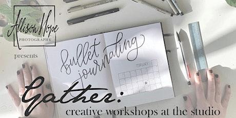 Bullet Journaling tickets