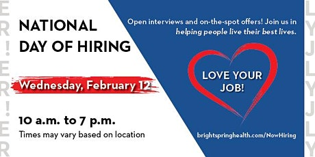 ResCare NATIONAL DAY OF HIRING! Hiring On the spot! tickets