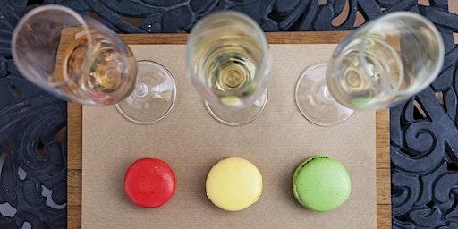 Macarons & Sparkling Wine Pairing