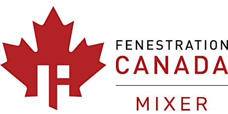 Fenestration Canada IBS Mixer tickets