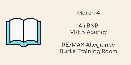 March 4, 2020 CE Class  AirBNB & VREB Agency