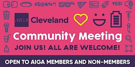 January Community Meeting tickets