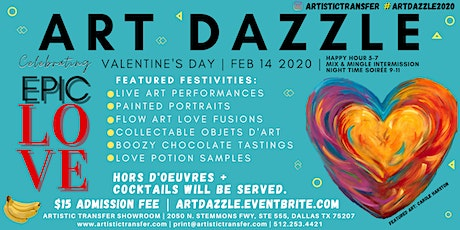 Art Dazzle Show - The Most Epic Valentines Day tickets