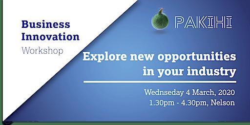 Pakihi Workshop: Business Innovation - Nelson