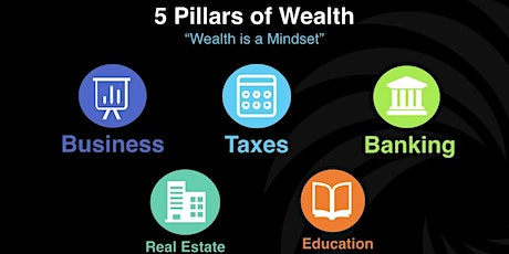 Learn The 5 Pillars of Massive Wealth tickets