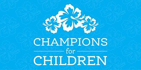 Champions for Children tickets