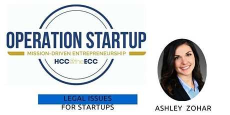 Legal Issues for Startups tickets