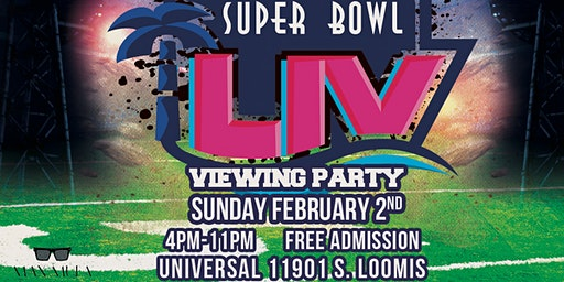 Super Bowl LIV : Free Watch Party