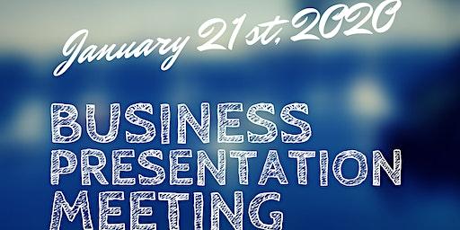 Business Presentation Meeting