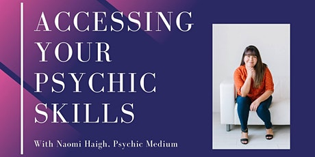Accessing Your Psychic Skills tickets