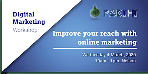 Pakihi Workshop: Digital Marketing - Nelson