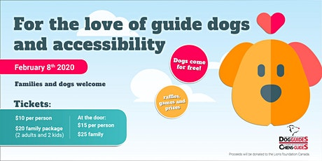 For the Love of Guide Dogs & Accessibility tickets