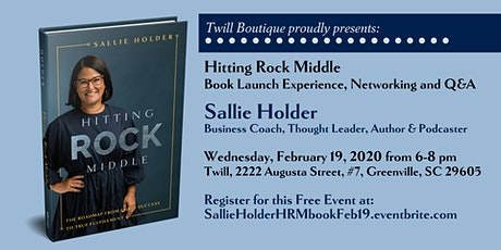 Sallie Holder HITTING ROCK MIDDLE Launch Event tickets