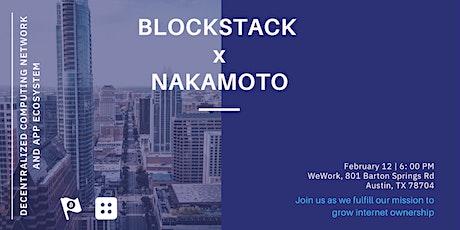 Blockstack Austin: Growing Internet Ownership tickets