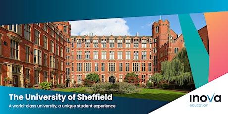 Estudia en la Universidad de Sheffield con la beca de CONACyT - también en línea tickets