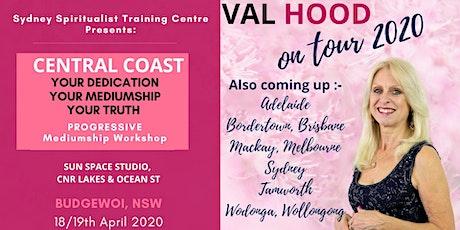 Central Coast Progressive Mediumship Mentoring 18/19 April tickets