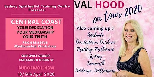 Central Coast Progressive Mediumship Mentoring 18/19 April