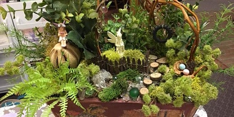 Miniature Garden Workshop. $45.00 - Plant will be yours to take home. tickets