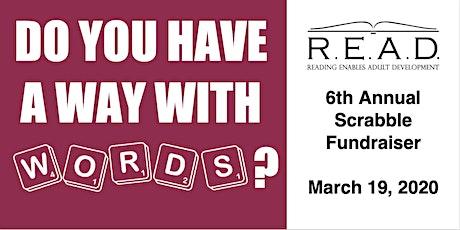 R.E.A.D. Ottawa's 6th Annual Scrabble Fundraiser tickets