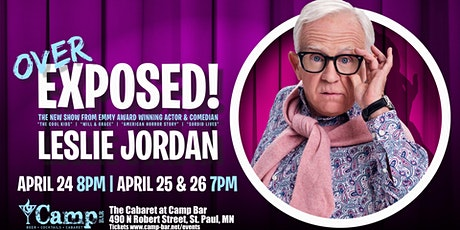 """Leslie Jordan """"Over EXPOSED"""" (Special Event) tickets"""