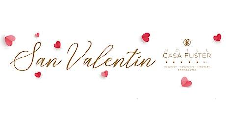 CENA DE SAN VALENTÍN / SOPAR DIA DELS ENAMORATS / VALENTINE'S DINNER entradas