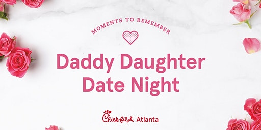 Daddy Daughter Date Night West Cobb 2020
