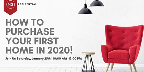 How to Purchase Your First Home in 2020! tickets