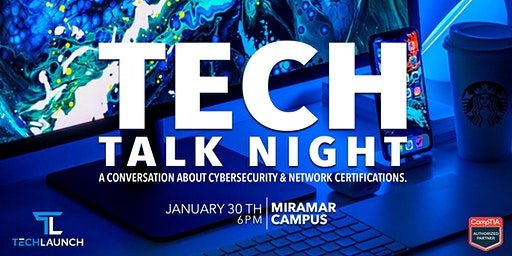 Tech Talk. A conversation about IT Certifications & Careers in Tech